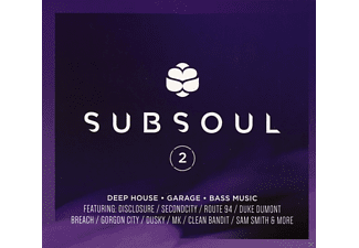 VARIOUS - Subsoul 2: Deep House, Garage & Bass Music [CD]