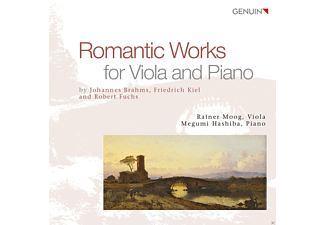 Megumi Hashiba, Rainer Moog - Romantic Works For Viola And Piano - (CD)