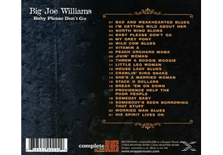Big Joe Williams - Baby Please Don't Go - (CD)