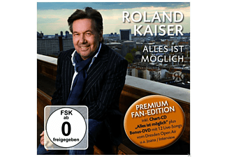 Roland Kaiser - Alles Ist Möglich - Premium Fan Edition - (CD + DVD Video)