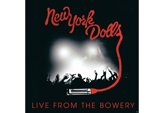 New York Dolls - Live From The Bowery 2011 - (CD + DVD Video)