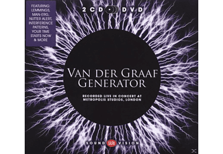 Van Der Graaf Generator - Recorded Live In Concert At Metropolis Studios, London - (CD + DVD Video)