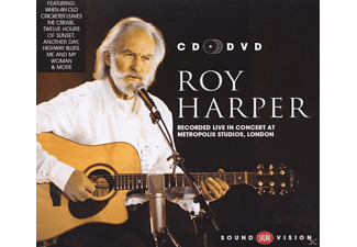 Roy Harper - Recorded Live In Concert At Metropolis Studios, London - (CD + DVD Video)