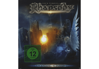 Luca Turilli´s Rhapsody - Ascending To Infinity - (CD + DVD Video)