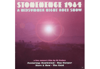 Hawkwind, Roy Harper, Here & Now, The Enid - Stonehenge 1984 - A Midsummer Night Rock Show - (CD + DVD Video)