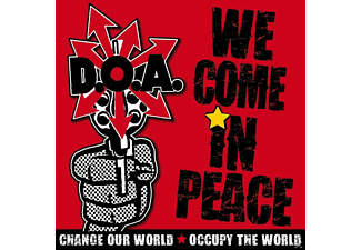 D.O.A. - We Come In Peace [CD]