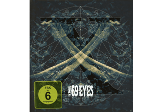 The 69 Eyes - X (Digibook) [CD + DVD Video]