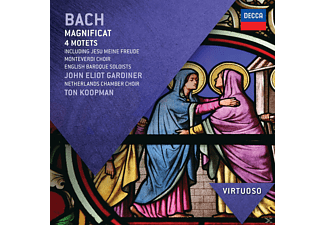 Emma Kirkby, Nancy Argenta, Anthony Rolfe Johnson, Monteverdi Choir, Netherlands Chamber Choir, English Baroque Soloists - Magnificat Bwv 243/Vier Motetten [CD]