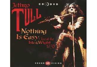 Jethro Tull - Nothing Is Easy - Isle Of Wight 1970 (Cd+Dvd) - (CD)