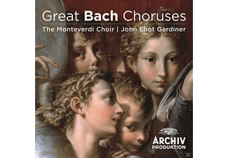 John Eliot Gardiner, The English Baroque Soloists, Monteverdi Choir - Great Bach Choruses - (CD)