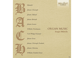 Sergio Militello - Organ Music - (CD)