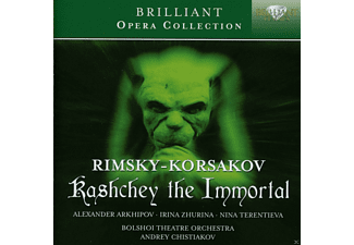 Alexander Arkhipov, Nina Terentieva, The Bolshoi Theatre Orchestra - Kastchey The Immortal - (CD)