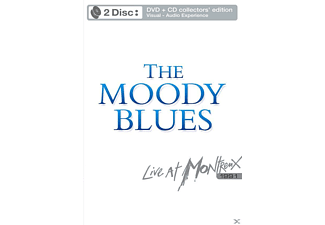 The Moody Blues - Live At Montreux 1991 - (DVD + CD)