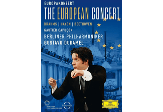 Gautier Capucon, Berliner Philharmoniker - The European Concert - (DVD)