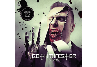 Gothminister - Utopia (Ltd.Edition) [CD + DVD]