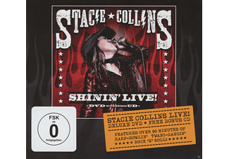 Stacie Collins - Shinin' Live - (CD + DVD)