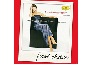 "Anne-Sophie Mutter - First Choice: Beethoven: Violin Sonatas ""spring"" & ""kreutzer"" - (CD)"