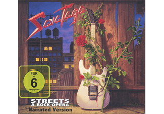 Savatage - STREETS. NARRATED VERSION/THE VIDEO COLLECTION - (CD + DVD)
