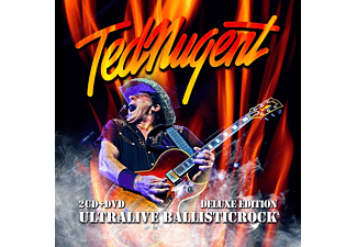 Ted Nugent - Ultralive Ballisticrock - Deluxe Edition (CD + DVD)