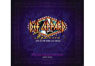 Def Leppard - Viva! Hysteria - Live At The Joint, Las Vegas (Special Deluxe Edition) - (DVD + CD)