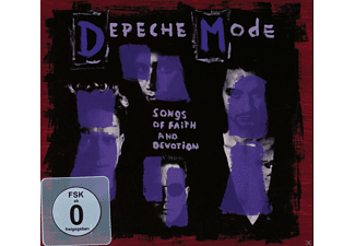 Depeche Mode - Songs Of Faith And Devotion - (CD + DVD Video)
