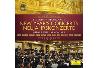 Wiener Philharmoniker - Neujahrskonzerte (Legendary Recordings) [CD + DVD]