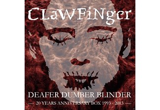 Clawfinger - Deafer Dumber Blinder - 20 Years Anniversary Box [CD + DVD Video]