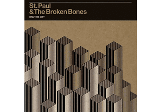 St.Paul & The Broken Bones - Half The City - (CD)