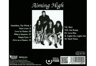 Aiming High - Geraldine, The Witch [CD]