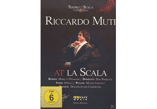 VARIOUS, Chorus Of The Teatro Alla Scala, Orchestra Of Teatro Alla Scala - Riccardo Muti At La Scala - (DVD)