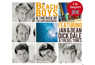 The Beach Boys - Beach Boys And The Rise Of The Surf Movement [CD]