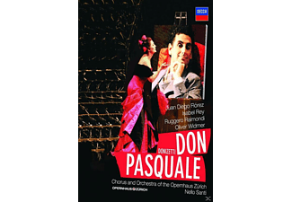 Juan Diego Florez, Isabel Rey, Oliver Widmer, Chorus And Orchestra Of The Opernhaus Zürich, Raimondi Ruggero - Don Pasquale - (Blu-ray)