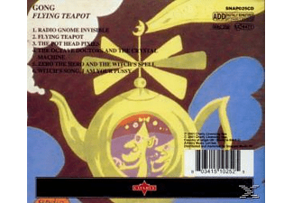Gong - FLYING TEAPOT - (CD)
