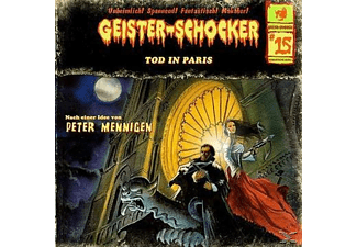 Geister-Schocker 15: Tod in Paris - 2 CD - Horror