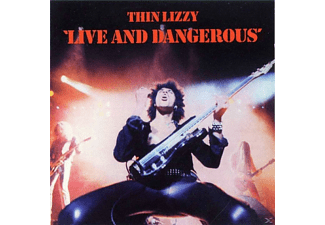 Thin Lizzy - Live And Dangerous (Deluxe Edition) - (CD + DVD Video)