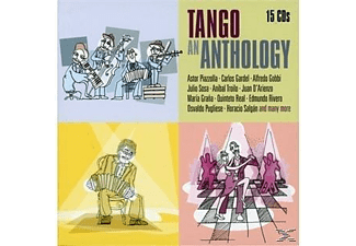Astor Piazzolla, Carlos Gardel, Alfredo Gobbi, Julio Sosa - A Tango's Anthology - (CD)