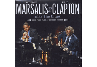 Wynton Marsalis, Eric Clapton - Wynton Marsalis + Eric Clapton - Play The Blues Live - (CD + DVD Video)