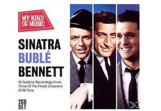 Sinatra,F/Buble,M/Bennett,T - Sinatra Buble Bennett-My Kind Of Music - (CD)