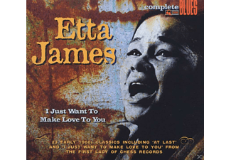 James Etta - I Just Want To Make Love To You - (CD)