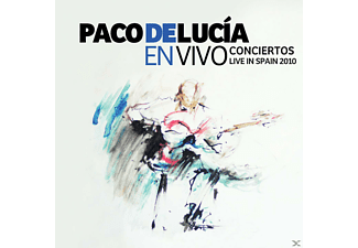 Paco De Lucía - En Vivo Conciertos Live In Spain 2010 (CD)
