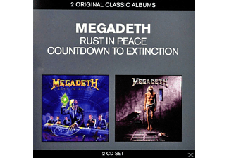 Megadeth - Rust In Peace / Countdown To Extinction - (CD)