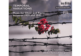 Birgit Schmieder, Akiko Yamashita - Termporal Variations - Music For Oboe And Piano - (SACD Hybrid)
