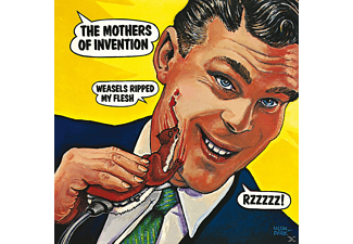 Frank Zappa, The Mothers Of Invention - Weasels Ripped My Flesh - (CD)