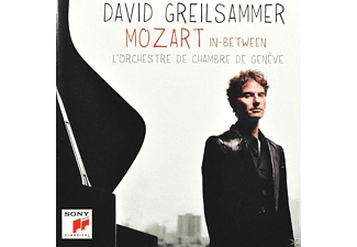 David Greilsammer, Lawrence Zazzo, Orchestre De Chambre De Genève - In-Between [CD]