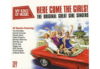 VARIOUS - Here Come The Girls - My Kind Of Music - (CD)