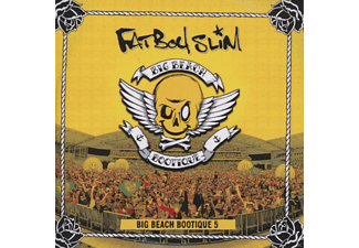 Fatboy Slim, VARIOUS - Big Beach Bootique 5 (Cd+DVD) - (DVD + CD)