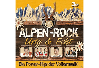VARIOUS - Alpen-Rock - Urig & Echt (3 Cd Box) - (CD)