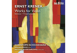 Christoph Schickedanz, Holger Spegg, Mathias Beyer-Karlshoj - Works For Violin - (CD)