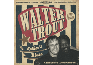 Walter Trout - Luther's Blues / A Tribute To Luther Allison - (CD)