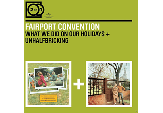 Fairport Convention - 2 For 1: What We Did On.../Unhalfbricking - (CD)